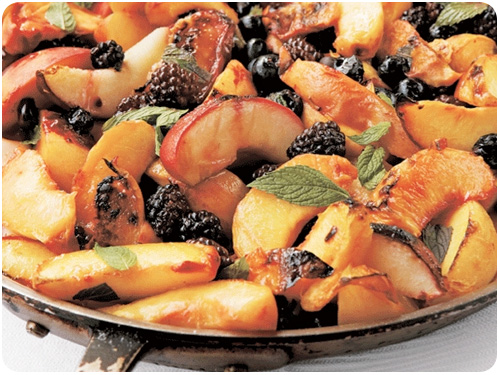 roasted fruit