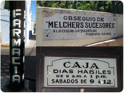 typography of mazatlan