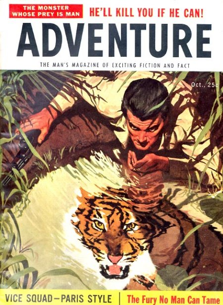 vintage mens adventure magazines