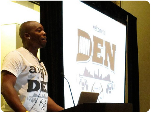 steve gordon jr. at the creative freelancer conference 2010 in denver, colorado