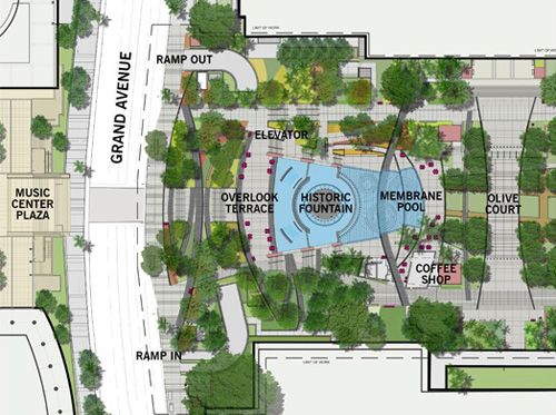 proposed LA civic park