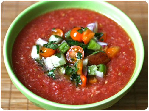 alice waters' gazpacho