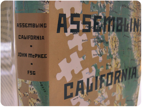 assembling california by john mcphee, spine