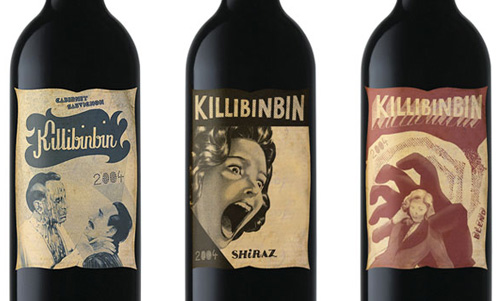 killibinbin wine packaging