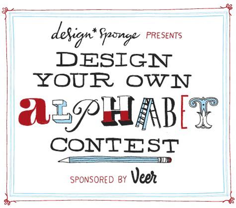 design sponge veer alphabet contest