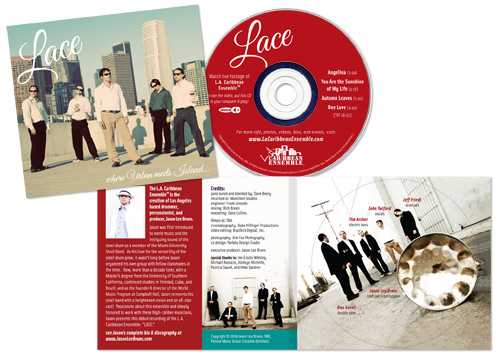 LACE cd packaging
