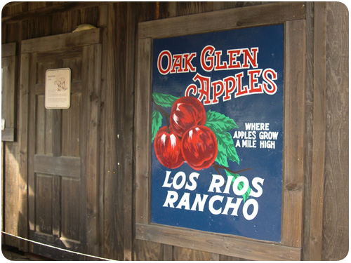 oak glen apples at los rios rancho