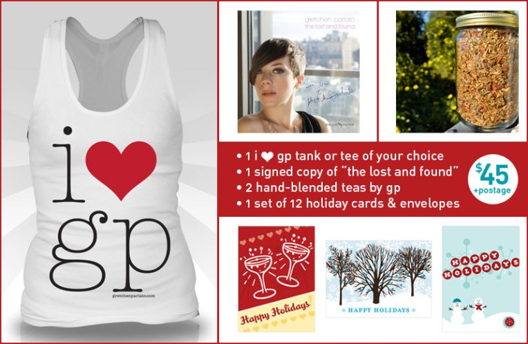 hp+gp holiday pack 2011