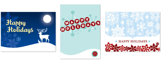 parlato design studio holiday cards
