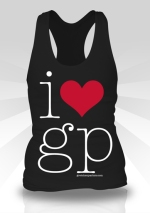i heart gp black tank