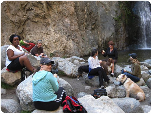freelancer frolic lunch at eaton canyon