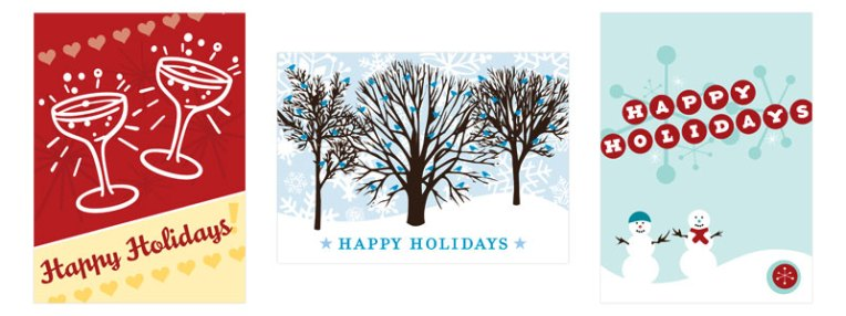 parlato design studio holiday cards for 2011