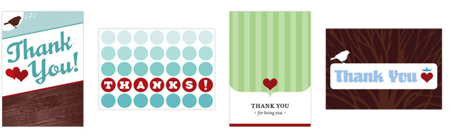 parlato design studio thank you cards
