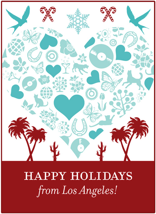 happy holidays from parlato design studio, los angeles