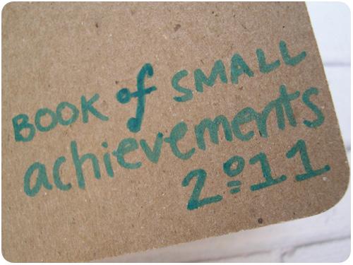 book of small achievements 2011