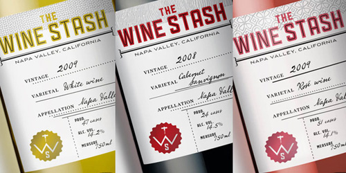 wine stash packaging