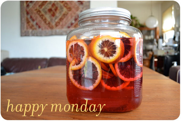 blood orange infusion