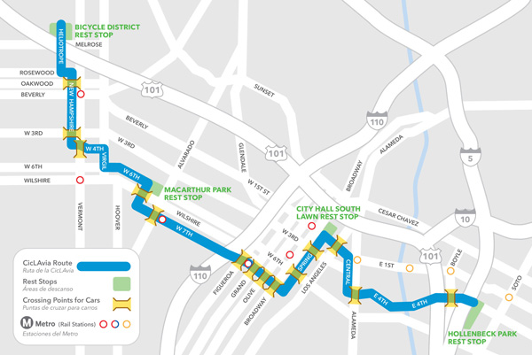 cicLAvia route