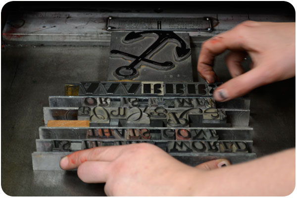 letterpress galley