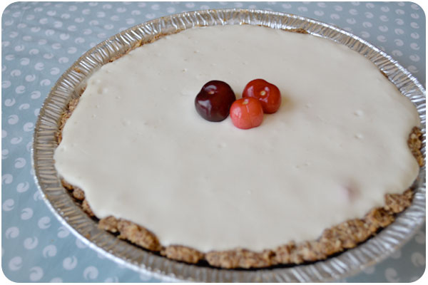 cherry cottage cheesecake