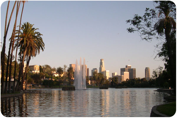 echopark_downtown_sunset