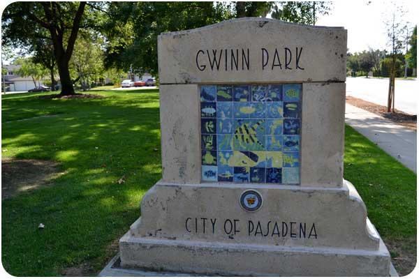 gwinn park sign