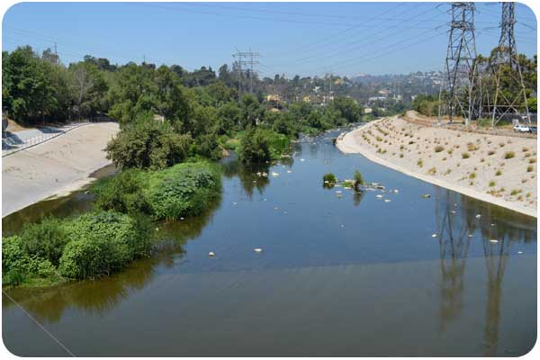LA river, north