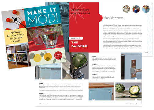make it mod! cover & interior spreads