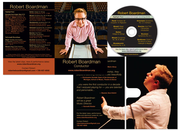 robert boardman dvd packaging