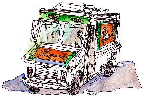 dosa truck sketch, shiho nakaza