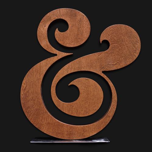 ugmonk woodcut ampersand