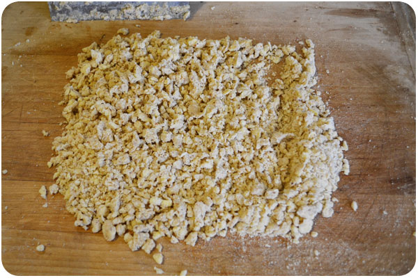 crumbly galette dough