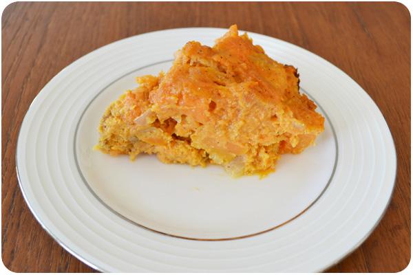 savory pumpkin slice