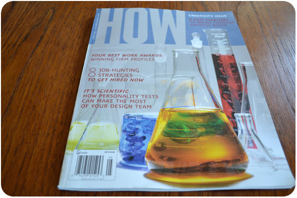 how's creativity issue, may 2012
