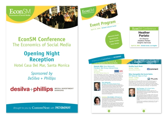 EconSM Conference Collateral