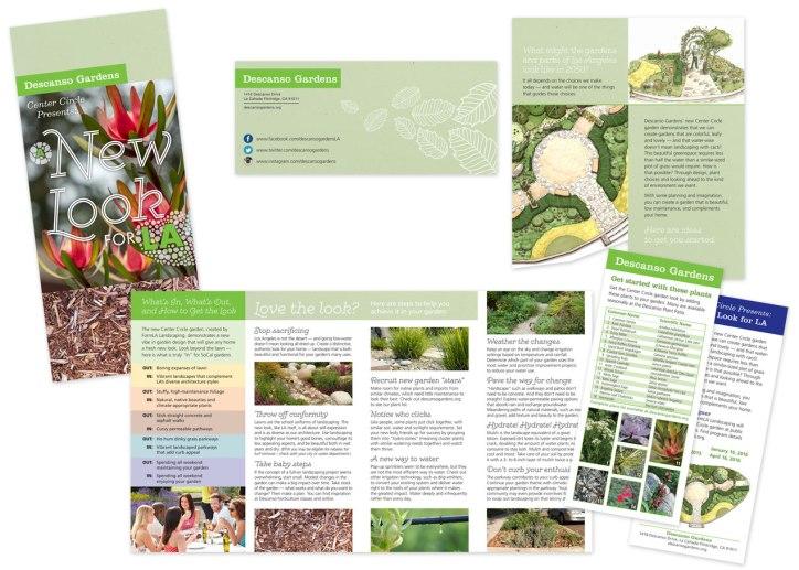 Center Circle Garden Brochure
