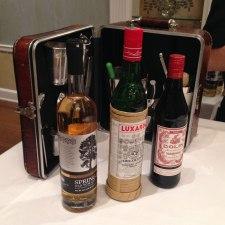 Vintage cocktailing kit