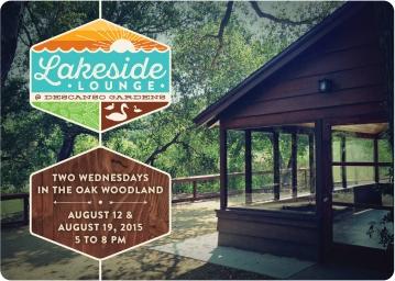 Lakeside Lounge opening invite
