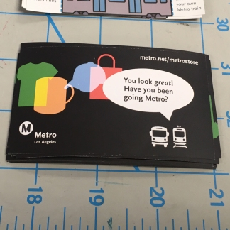 Go Metro Stickers