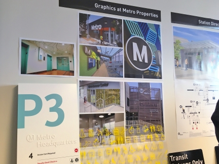 Metro Signage